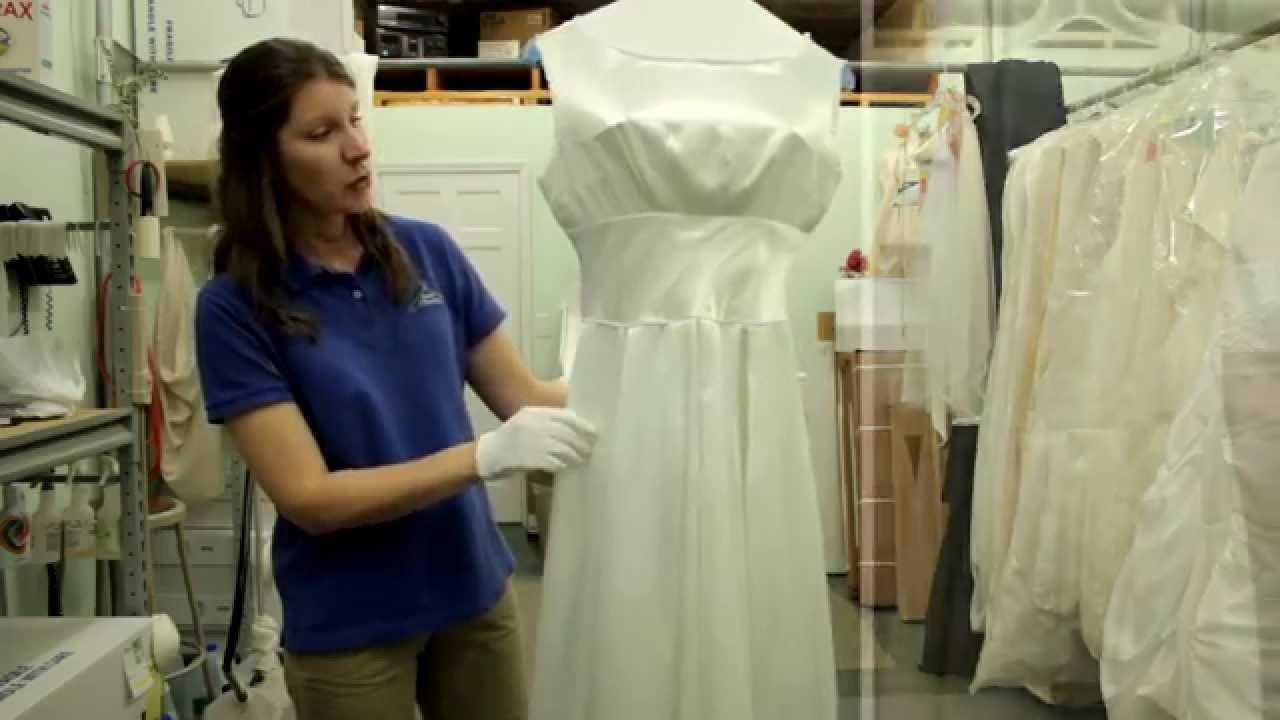 Wedding Gown Restoration #2   Heider Cleaners, Inc. - YouTube