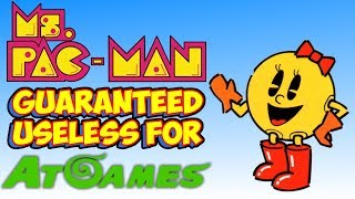 AtGames Responds To Lawsuit! Ms. Pac-Man Guaranteed Useless For Them!