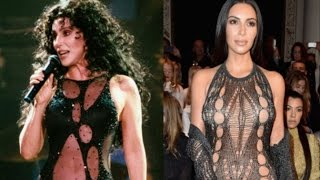 Cover images 11 times Kim K channeled Cher