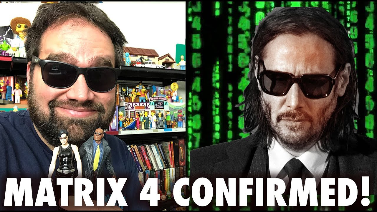 """Keanu Reeves and Carrie Anne-Moss are officially returning for """"Matrix 4"""""""
