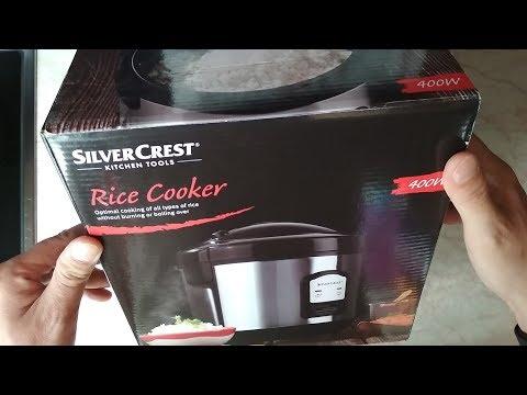 Тестване уред за варене на ориз SilverCrest  LiDL