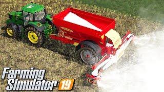 Ulepszenie rozsiewacza - Farming Simulator 19 | #27