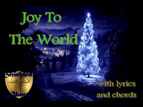 Joy To The World - Christmas Rock Song with Lyrics and Chords - YouTube