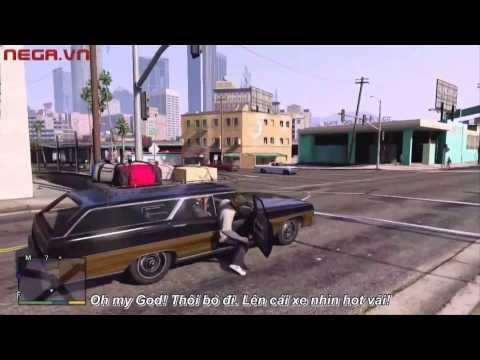Những tình huống vui nhộn trong GTA 5
