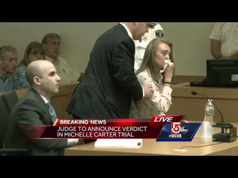 Michelle Carter Guilty Verdict in Conrad Roy III trial
