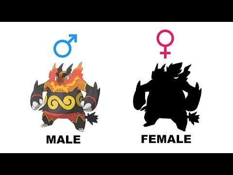 Tepig Pignite Emboar Gender Difference Fanart