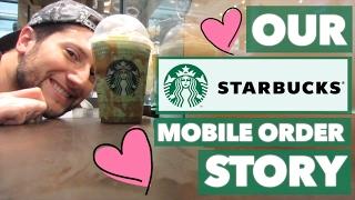 Our Starbucks Mobile Order Story