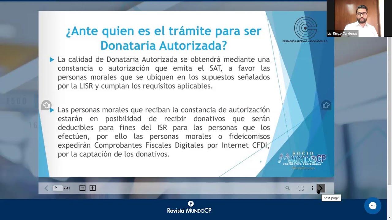 DONATARIAS