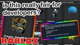 Roblox Youtubers Can Now Make Hats...and People Are Really Upset