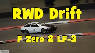 RC RWD DRIFT - DS RACING F ZERO & FINIX LF 3