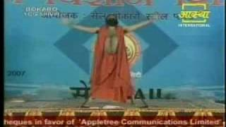 "Complete Jogging program Swami Ramdev  Exercise  ""Yogic Jogging"""