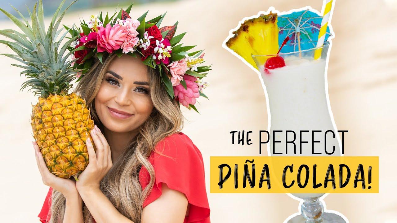The PERFECT Pina Colada Recipe - Kitchen Basics