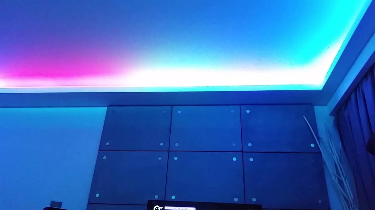 Taśma Led Cyfrowa Rgb Sterownik Cyfrowy Muzyczny Elegant S50 U Klienta