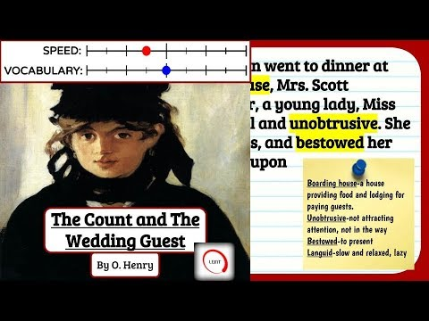 Learn English Through Story Listening - The Count and the Wedding, Slow Audiobook with Subtitles