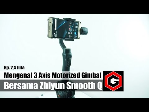 Review : Zhiyun Smooth Q Motorized Stabilizer Indonesia