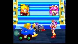 Rockman Battle & Chase Part 1 Character Selection & First Race