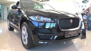 2018 Jaguar F-Pace. Start Up, Engine, And In Depth Tour.