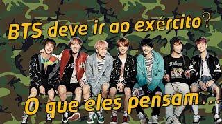 BTS deve servir no exército coreano?
