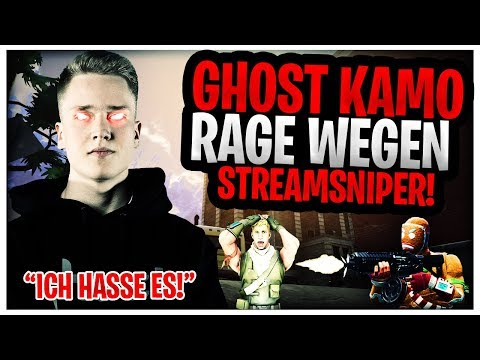 Ghost Kamo RAGE wegen Streamsniper????! | Neue Drum Shotgun zu STARK???? | Fortnite Highlights Deuts