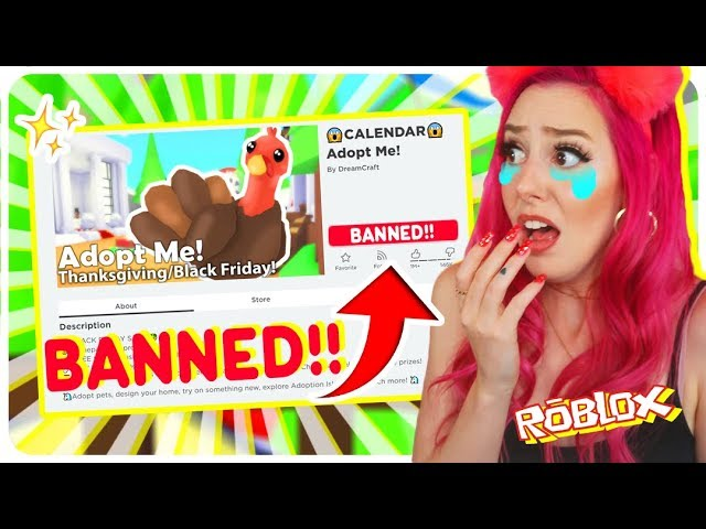 I Was Banned From Adopt Me For 24 Hours I Almost Cried Roblox Adopt Me Challenge Youtube