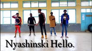 NYASHINSKI Hello (official dance cover)..The hottest dance that mad off nyashinski