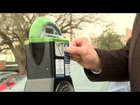 How to Use the New Two-Bay Parking Meters