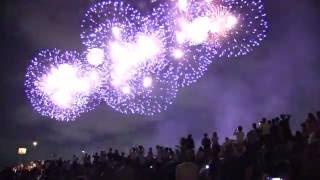 【花火大会2016】 江戸川区エキサイティング花火(江戸川区・市川市納涼花火大会)