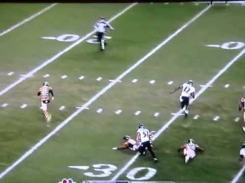 Jacoby Jones return VS. Steelers