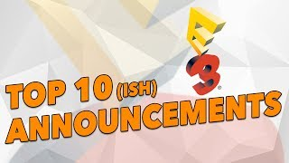 TOP 10(ish) E3 2017 Announcements - The Know Couch Chat
