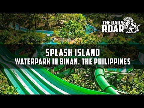 Splash Island Waterpark in Laguna, Binan City, Luzon, Philippines