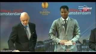 UEFA Europa League - Draw of the Quarter Finals 15/03/2013