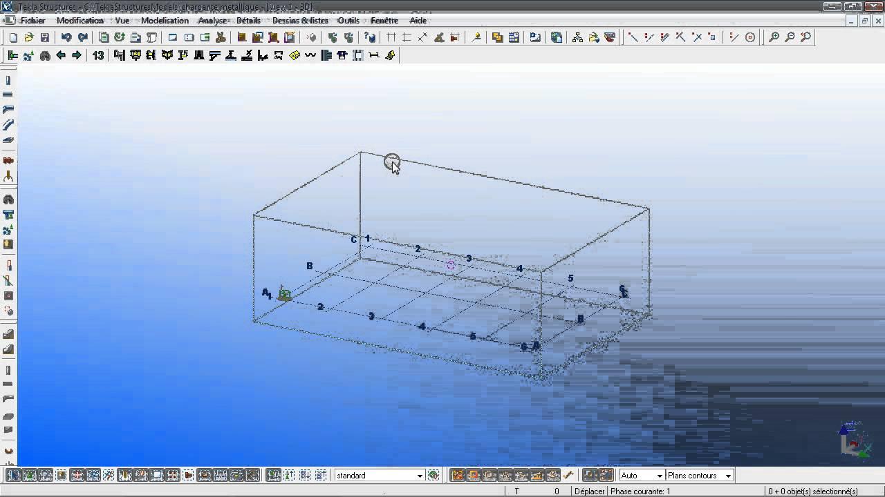 logiciel tekla charpente metallique