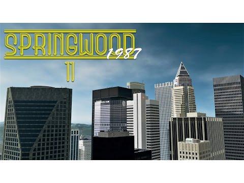 Cities Skylines: Springwood - EP11 - Skyline