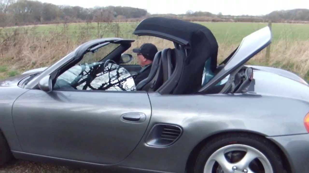 Porsche Boxster Roof Opening And Closing You