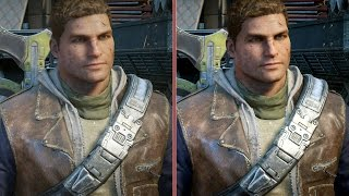 Gears of War 4 Graphics Comparison: Xbox One vs. PC