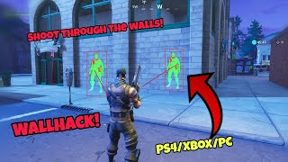 Fortnite Glitches Season 5 (100% working) *WallHack* Shoot Through The Walls PS4/Xbox one 2018