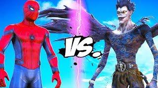 SPIDER-MAN VS DEATH NOTE (RYUK) - EPIC BATTLE