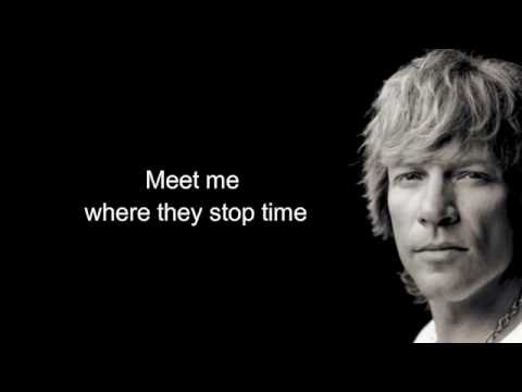 Bon Jovi - Living with the Ghost song + Lyrics