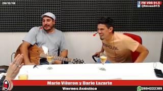 Mario Viluron y Dario Lazarte en Conectados