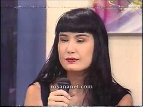 Rosana Fiengo programa almanaque Manchete