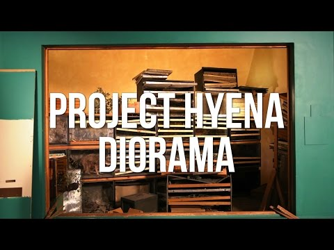 Project Hyena Diorama: Indiegogo Campaign!