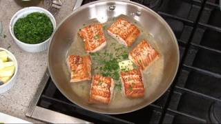 "All-Clad Tri-Ply Stainless Steel 8"" and 12"" Fry Pan Set on QVC"