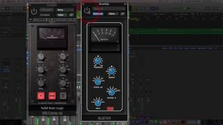 Waves SSL Bus Comp VS Analog Obsession Buster Bus Comp On Heavy Drums