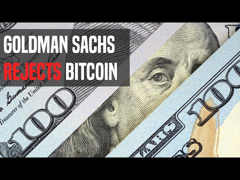 Goldman Sachs Bashes Bitcoin | Here's What You Need To Know