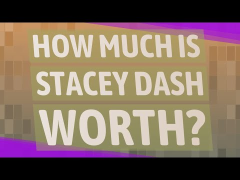 How Much Is Stacey Dash Worth?