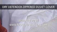 Dry Defender Zippered Duvet Cover
