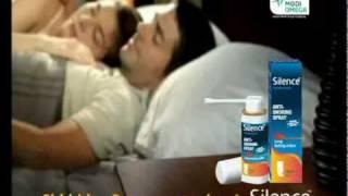 Silence Anti-Snoring Spray (English)