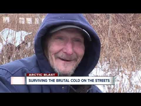 Homeless prepare for brutal, dangerous cold