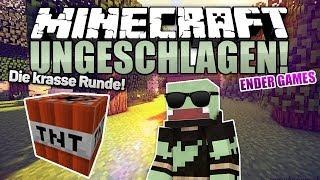 TNT FUN & BLINDE ACTION! - Minecraft UNGESCHLAGEN #23 - Ender Games | ungespielt