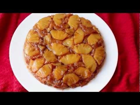 Pineapple Upside-Down Cake Recipe - Fresh Pineapple Coffee Cake